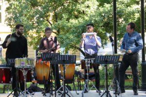 Az Óbudai Danubia Zenekar ütőhangszeres koncertje